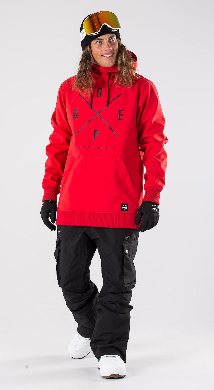 Dope Yeti Red Snowboardkläder Multi
