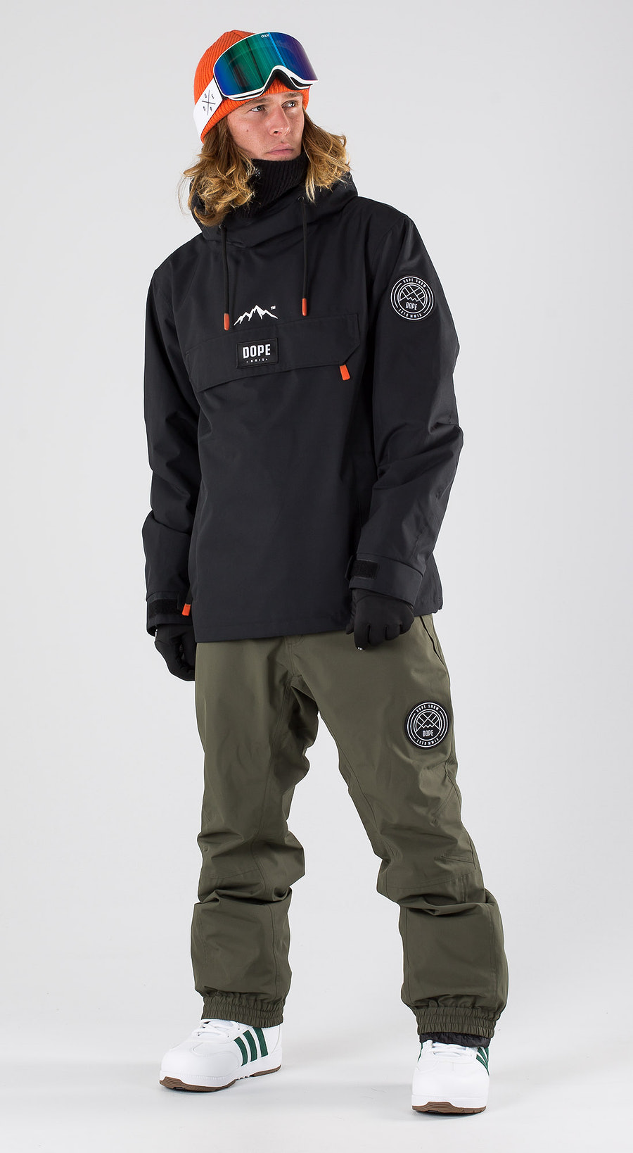 Dope Blizzard Black Snowboard clothing Multi