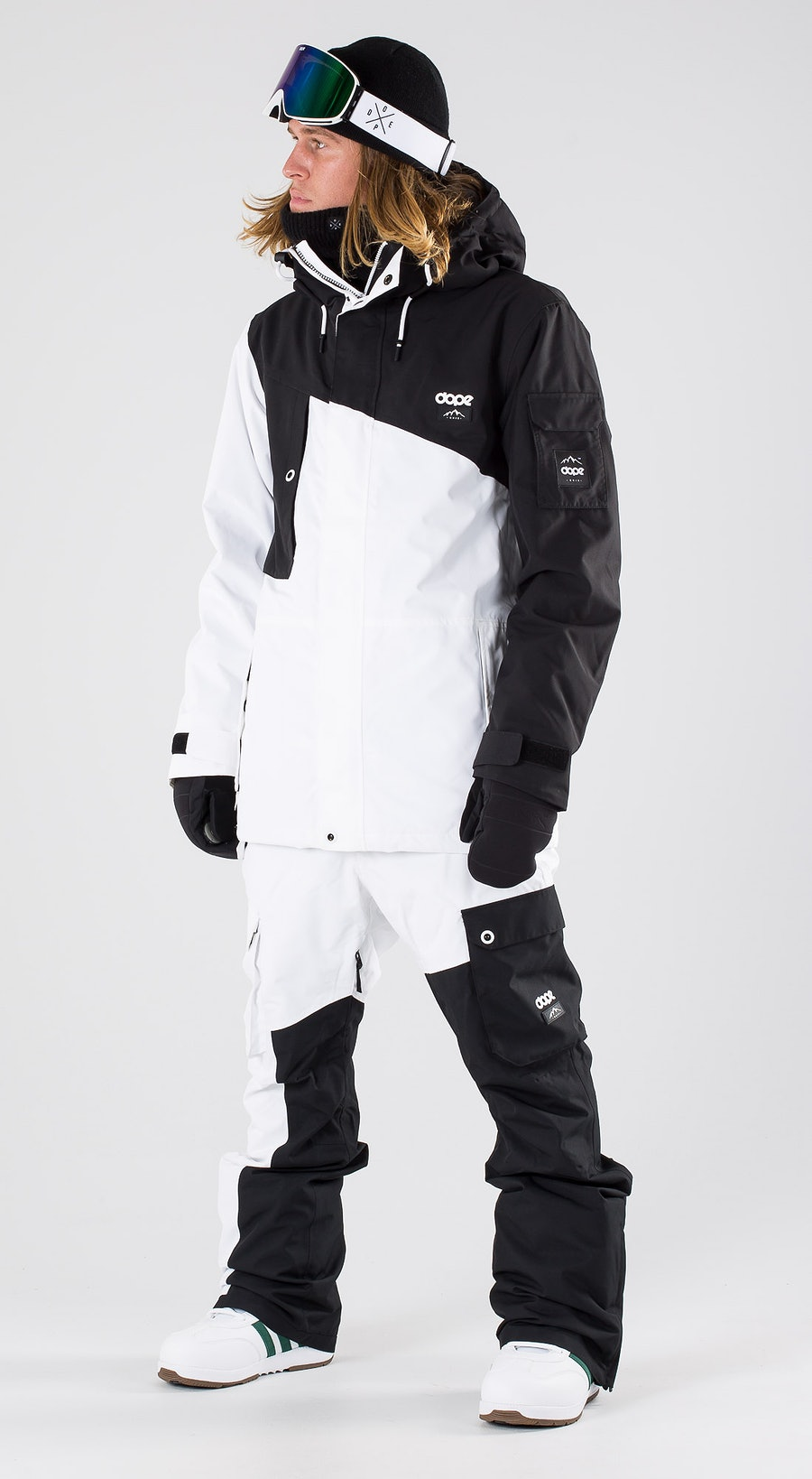 Dope Adept Black/White Snowboardkläder Multi