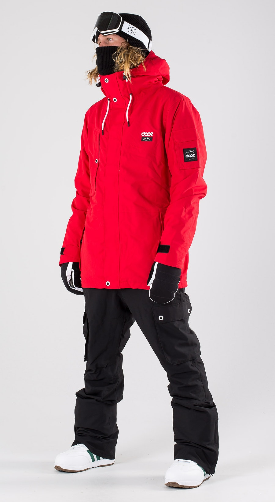 Dope Adept Red Snowboardkläder Multi