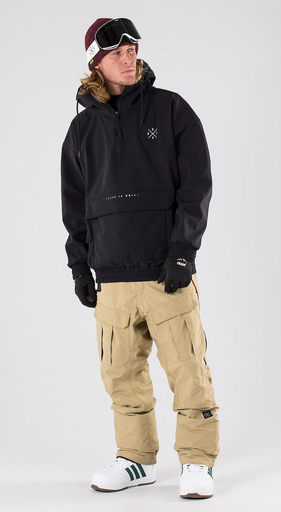 Dope Cyclone Black Snowboardkläder Multi