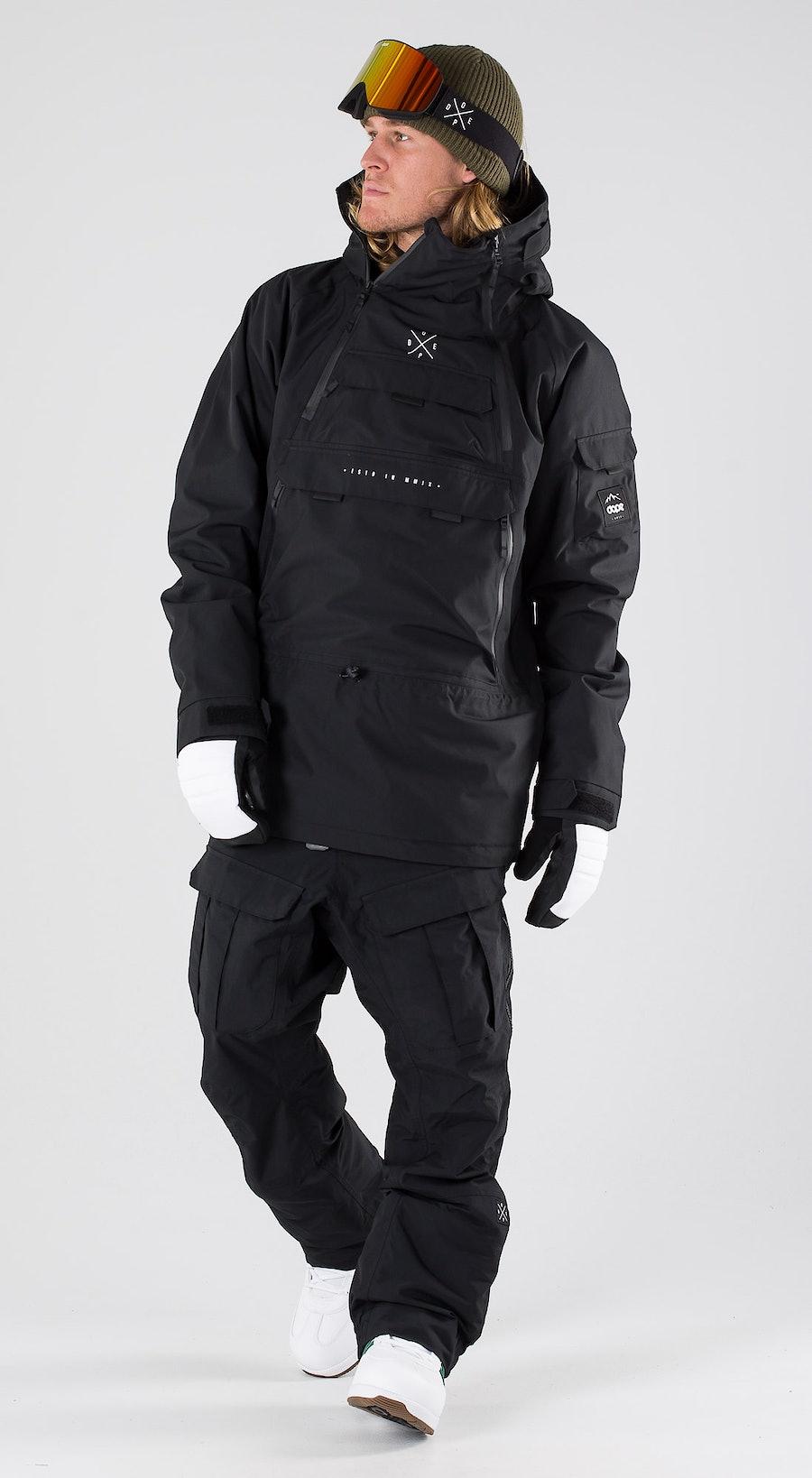 Dope Akin Black Snowboardkläder Multi