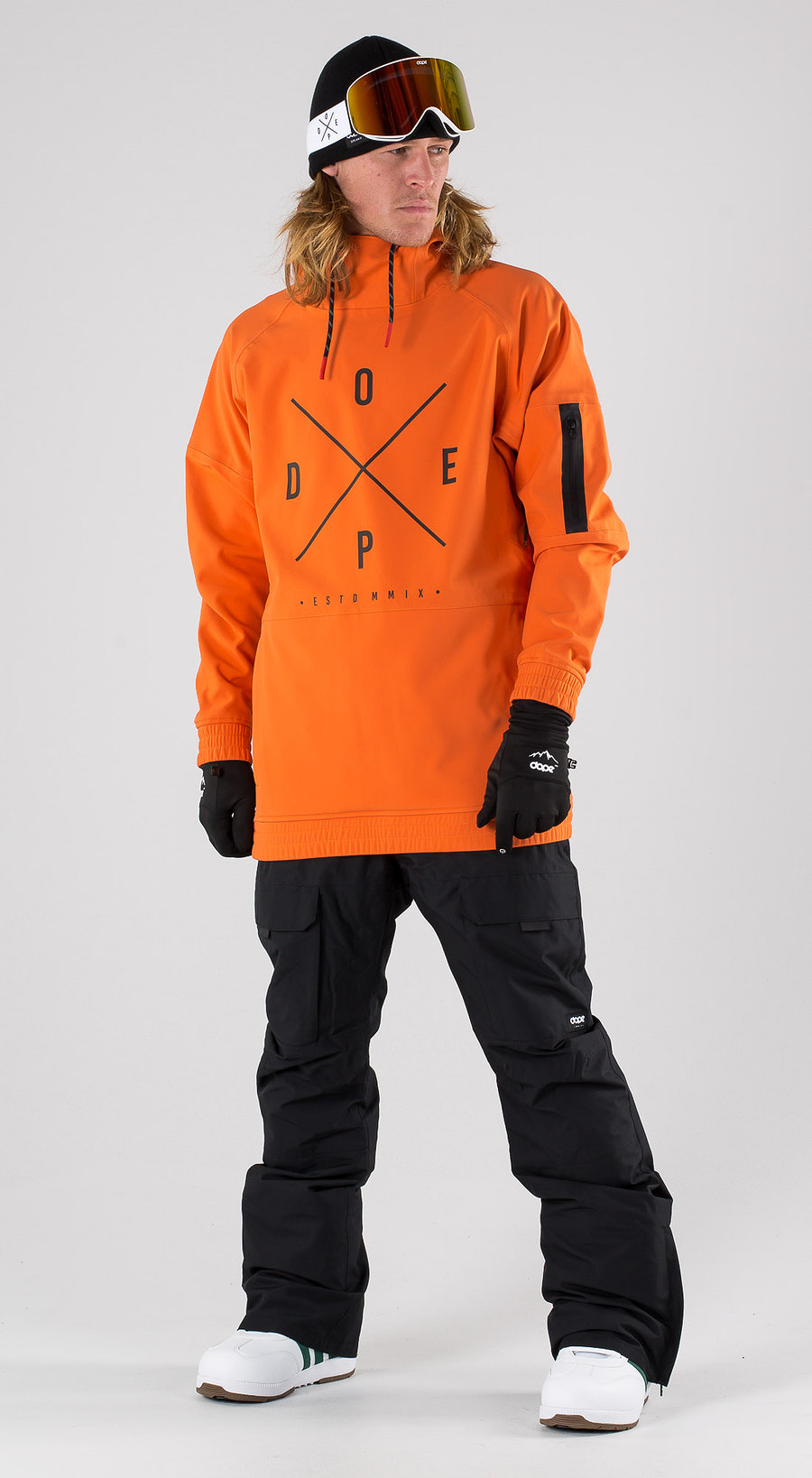 Dope Rambler MTE Orange Vêtements de snowboard  Multi