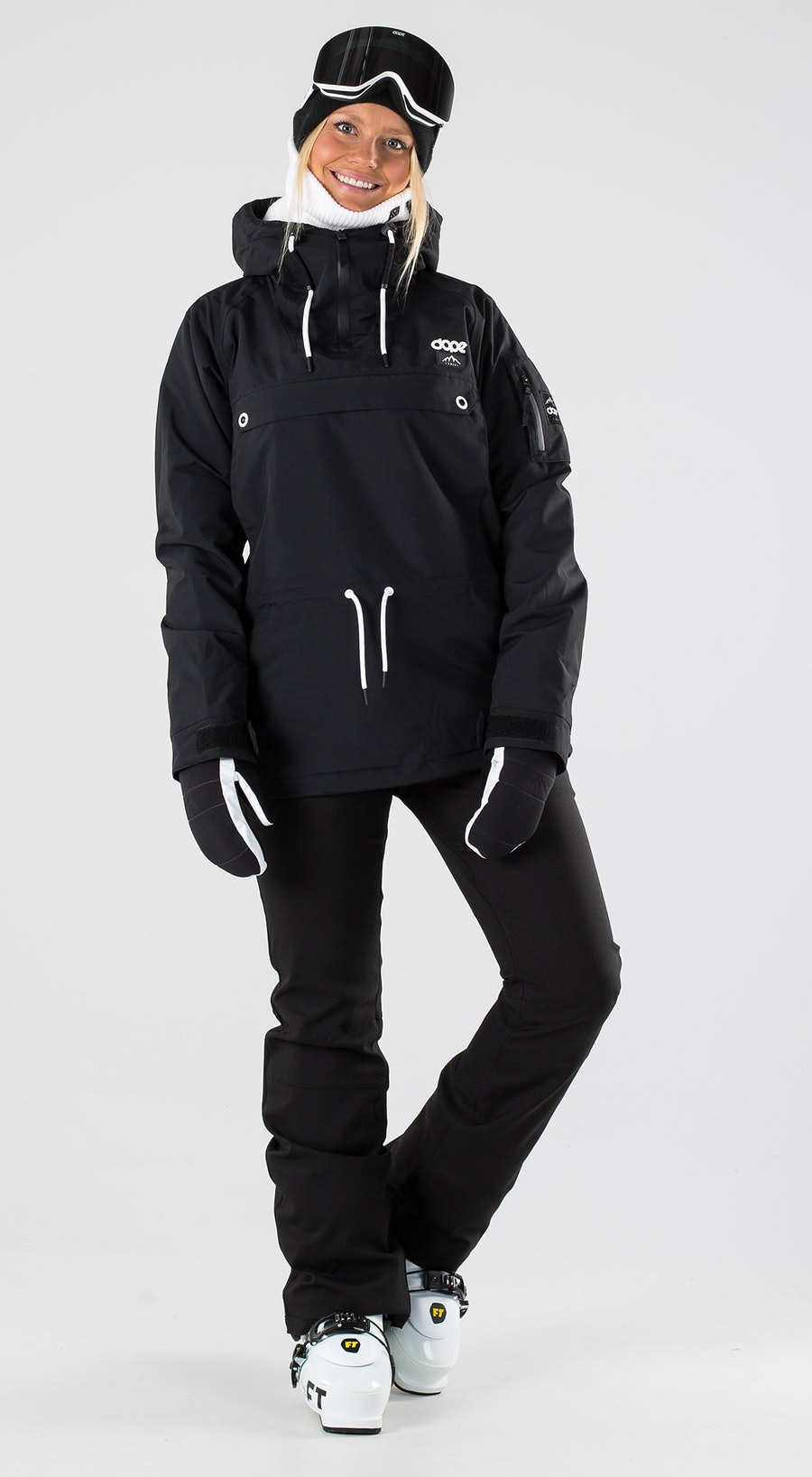 Dope Annok W Black Abbigliamento da sci Multi