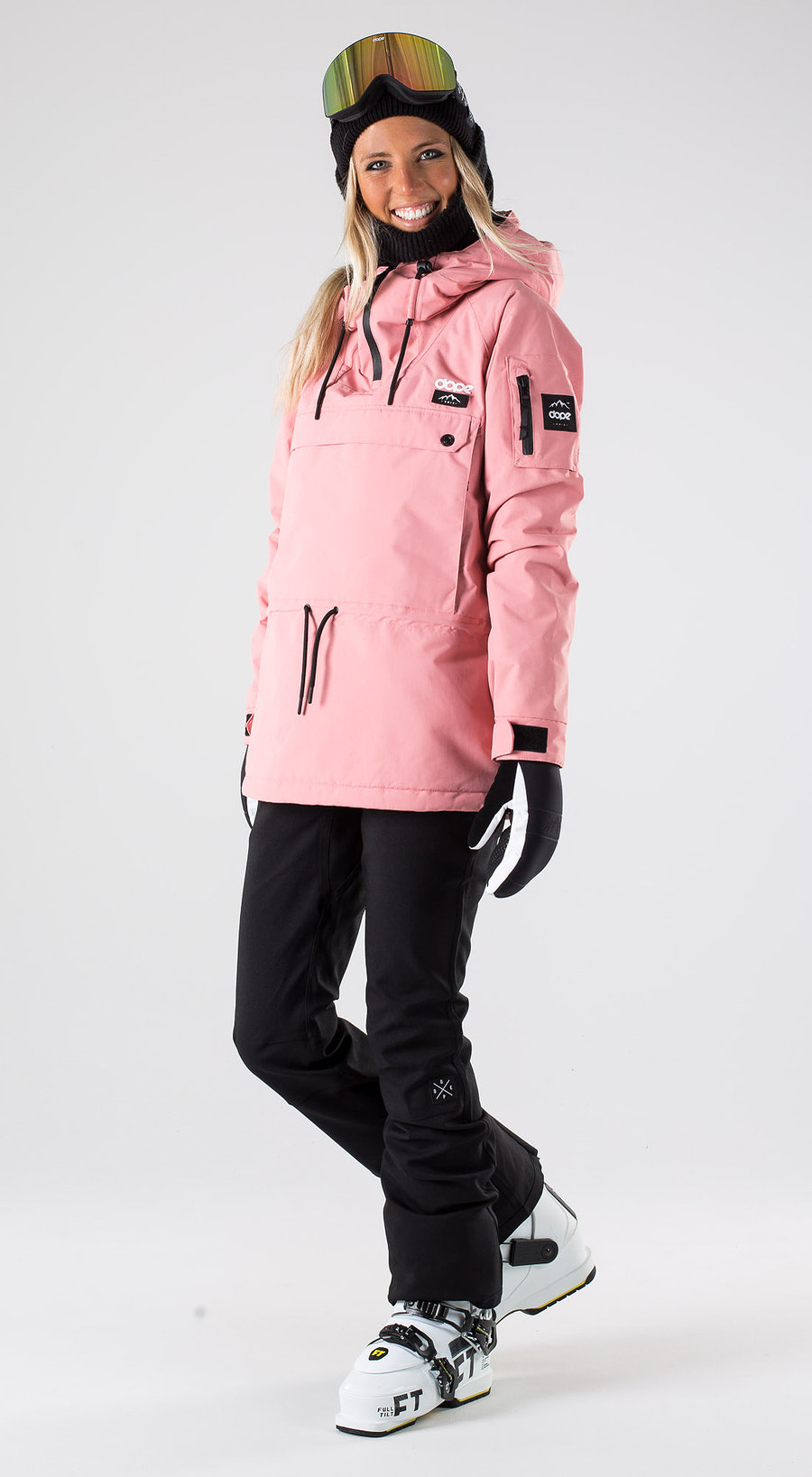 Dope Annok W Pink Skibekleidung Multi
