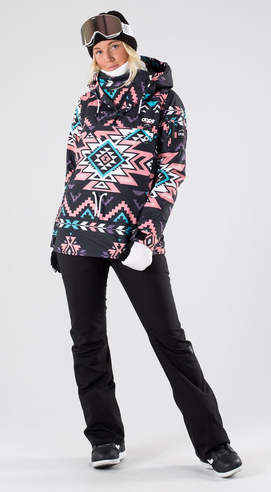 Dope Annok W Inka Pink Abbigliamento da snowboard Multi