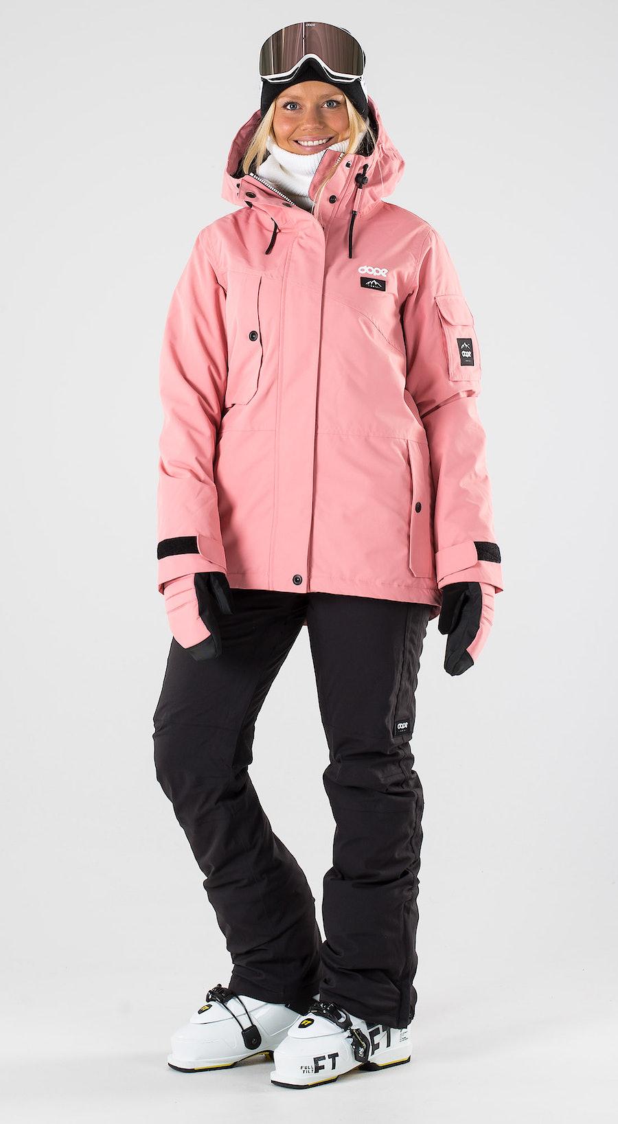 Dope Adept W Pink Skibekleidung Multi