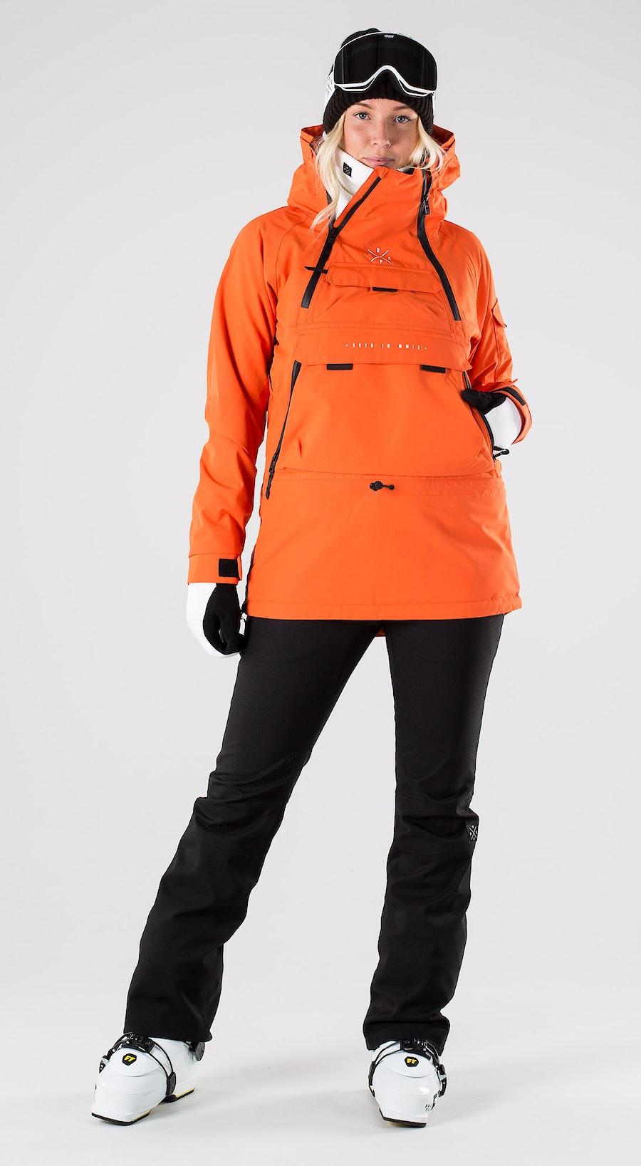 Dope Akin W Orange Abbigliamento da sci Multi