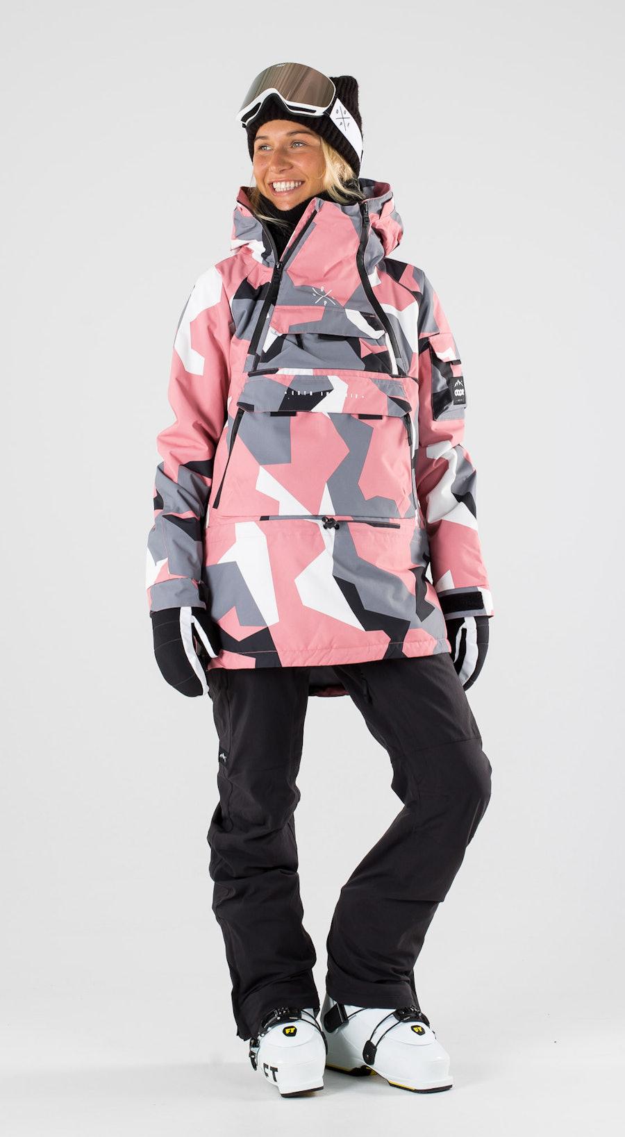 Dope Akin W Pink Camo Skibekleidung Multi
