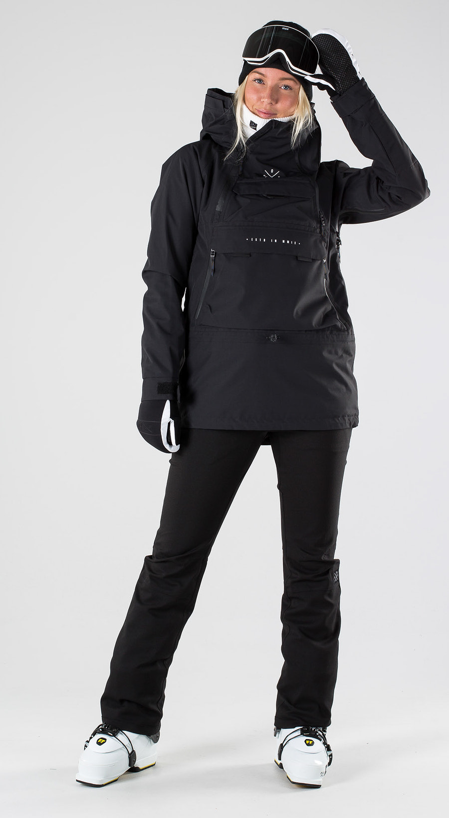 Dope Akin W Black Skibekleidung Multi
