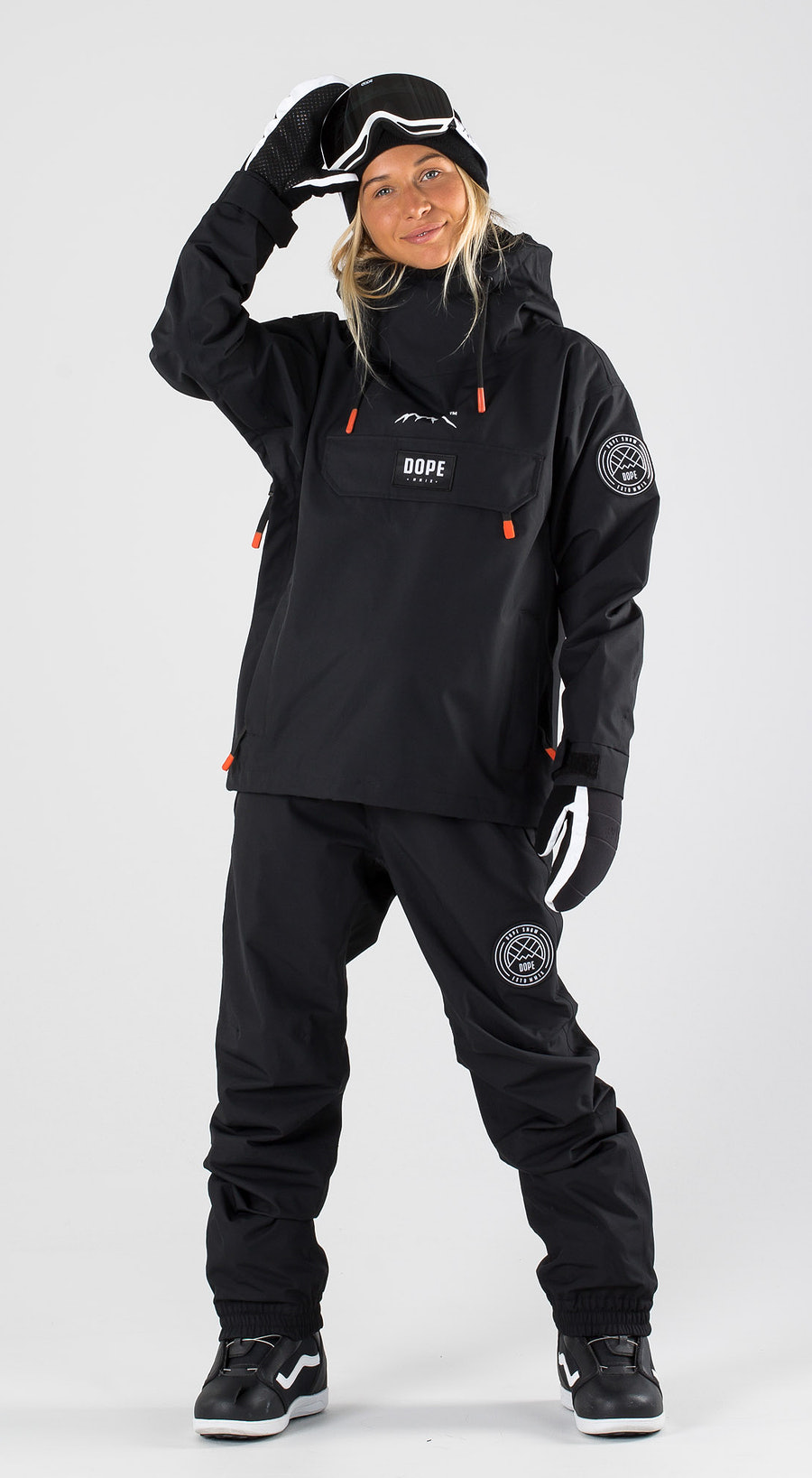 Dope Blizzard W Black Snowboard clothing Multi