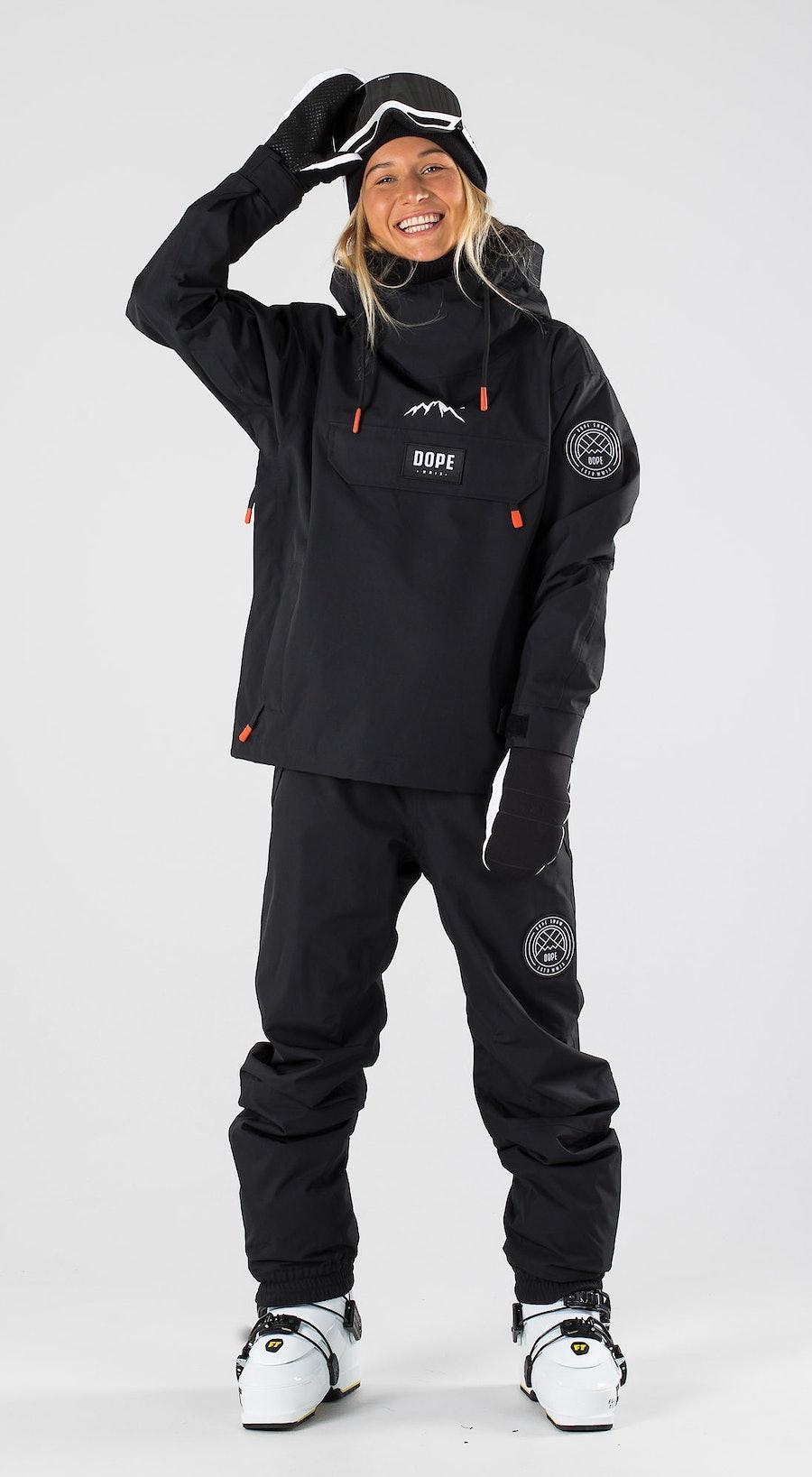 Dope Blizzard W Black Abbigliamento da sci Multi