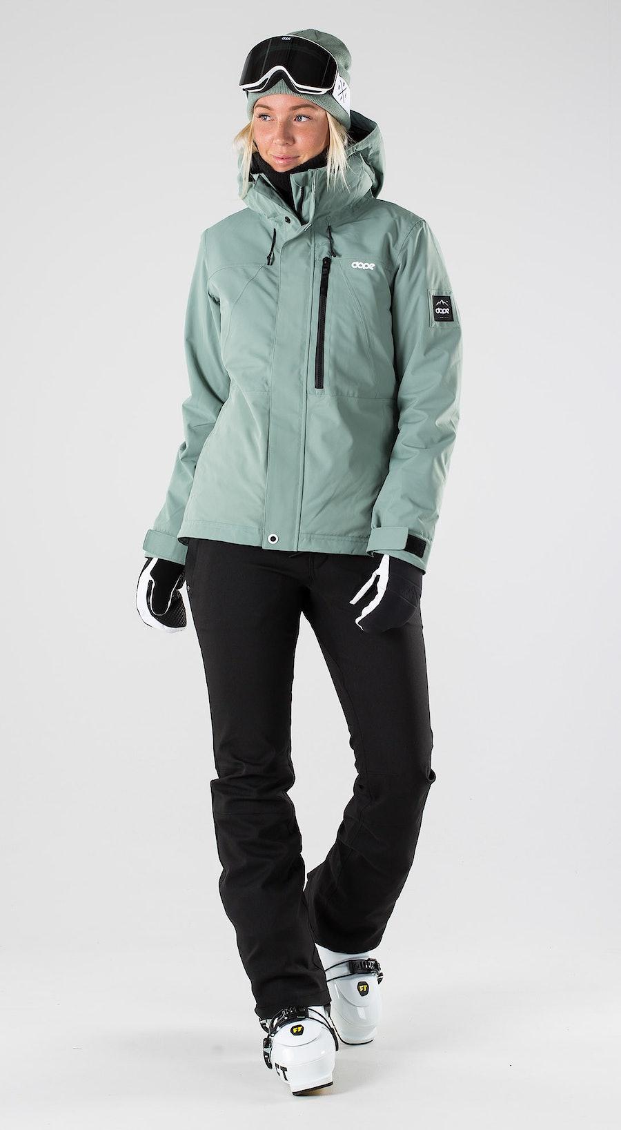 Dope Divine Faded Green Ski clothing Multi