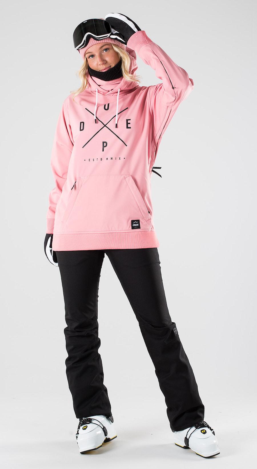 Dope Yeti W Pink Skibekleidung Multi