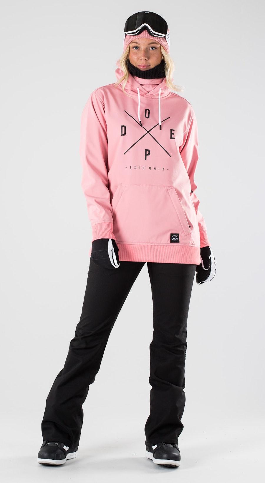 Dope Yeti W Pink Abbigliamento da snowboard Multi
