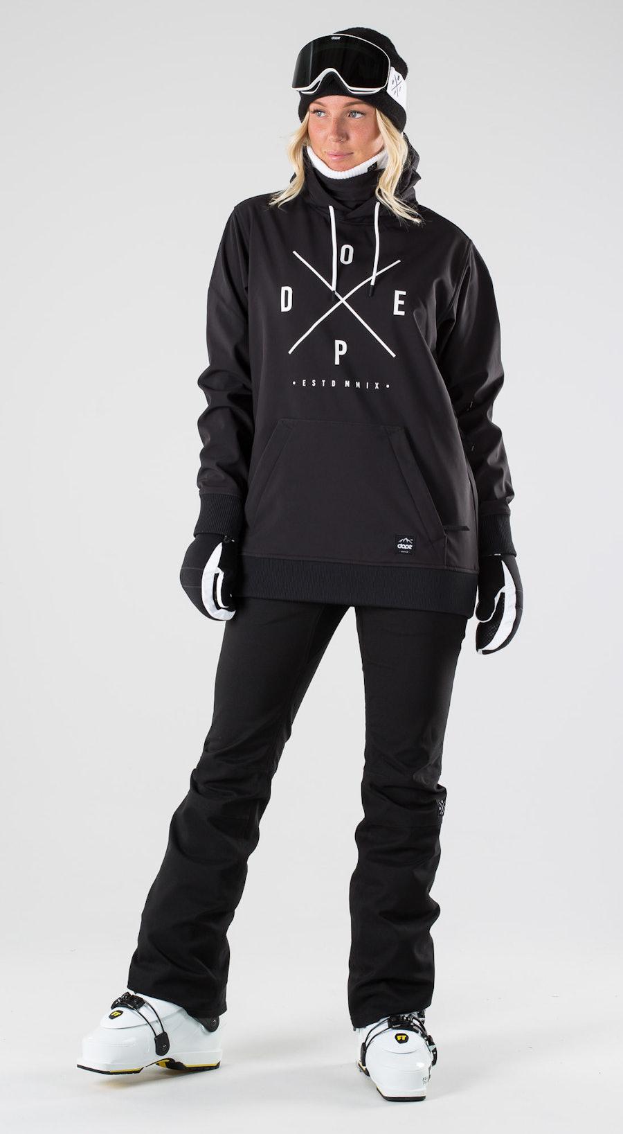 Dope Yeti W Black Skidkläder Multi
