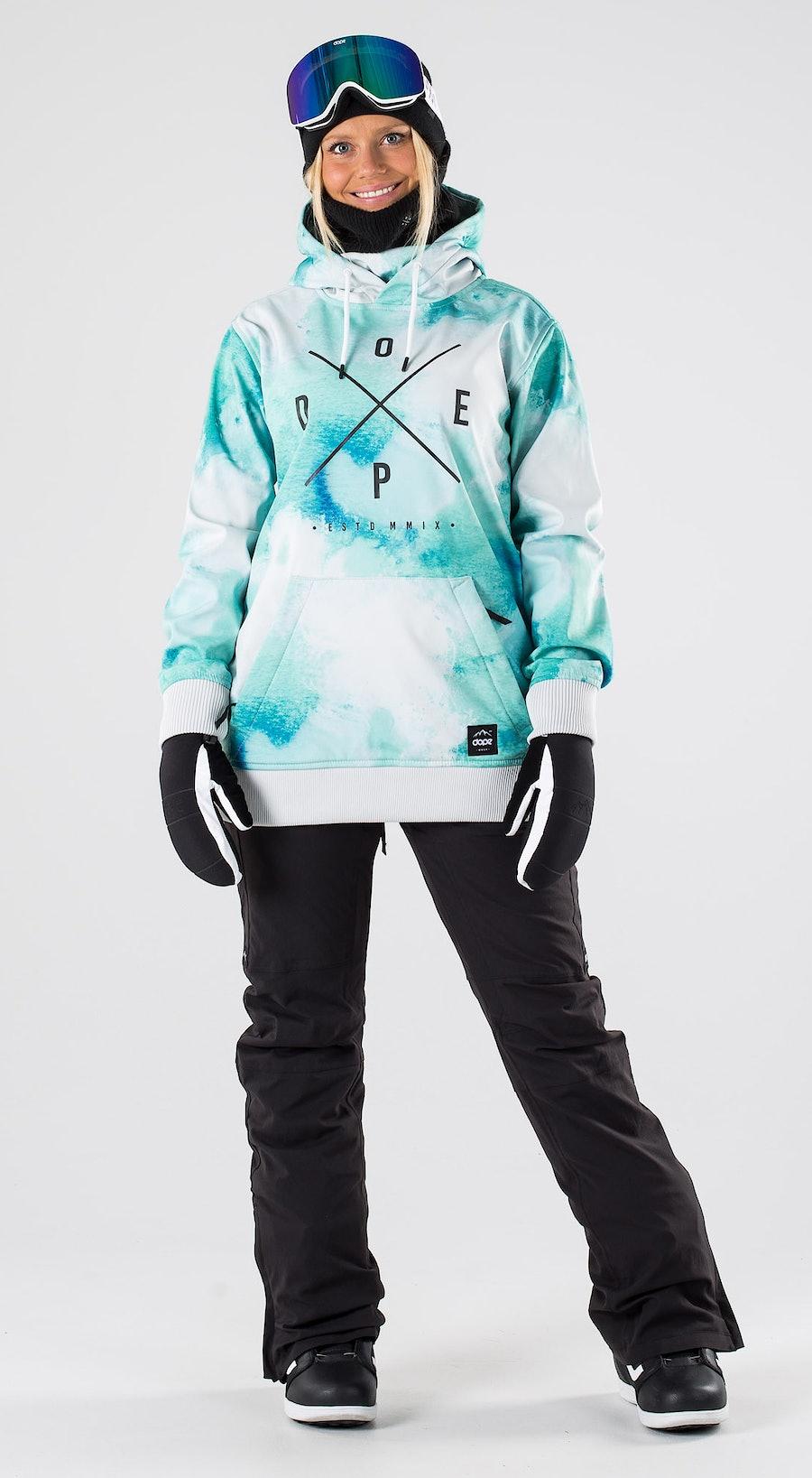 Dope Yeti W Water White Abbigliamento da snowboard Multi