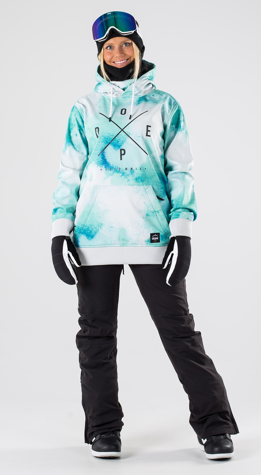 Dope Yeti W Water White Snowboard clothing Multi