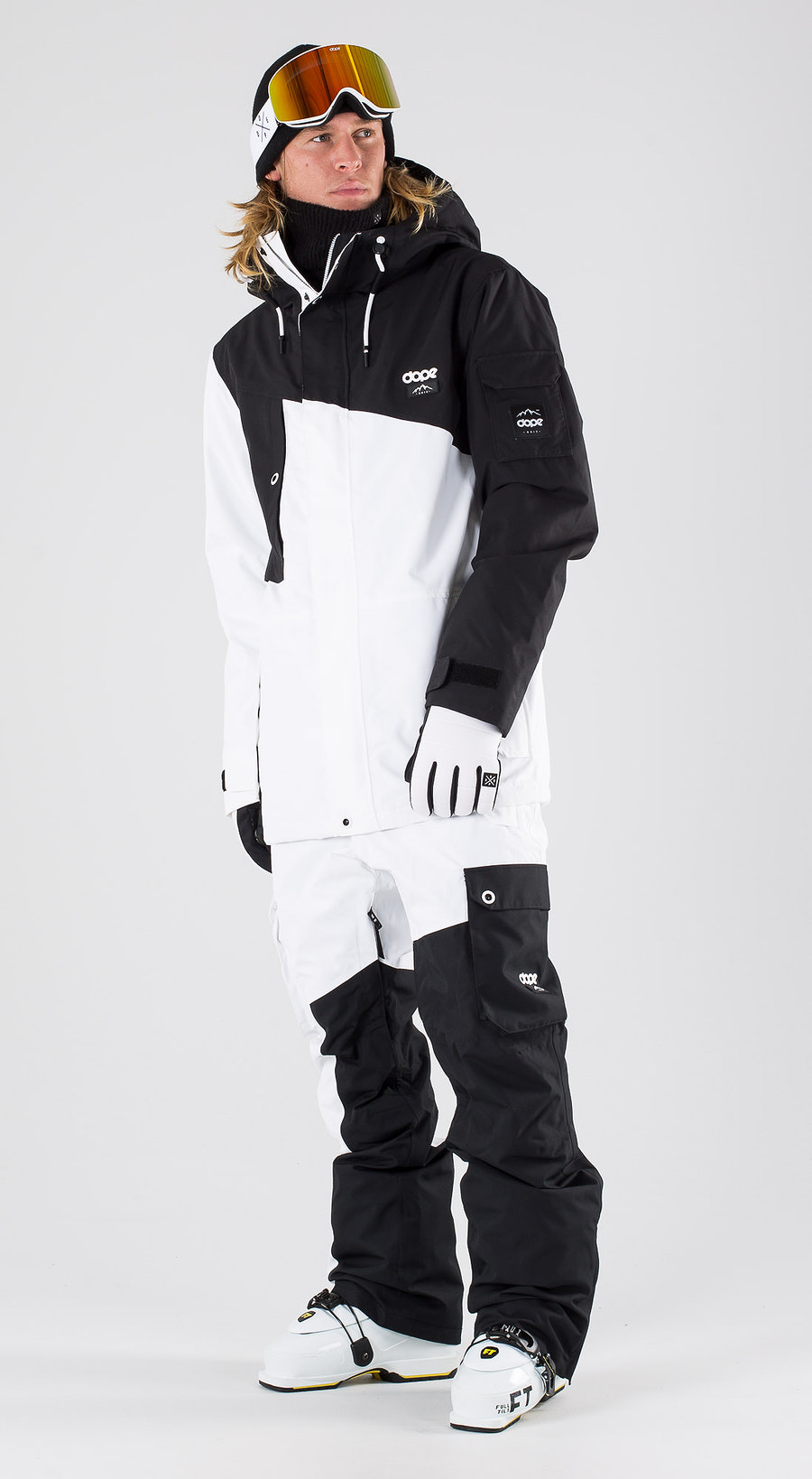 Dope Adept Black/White Ski clothing Multi