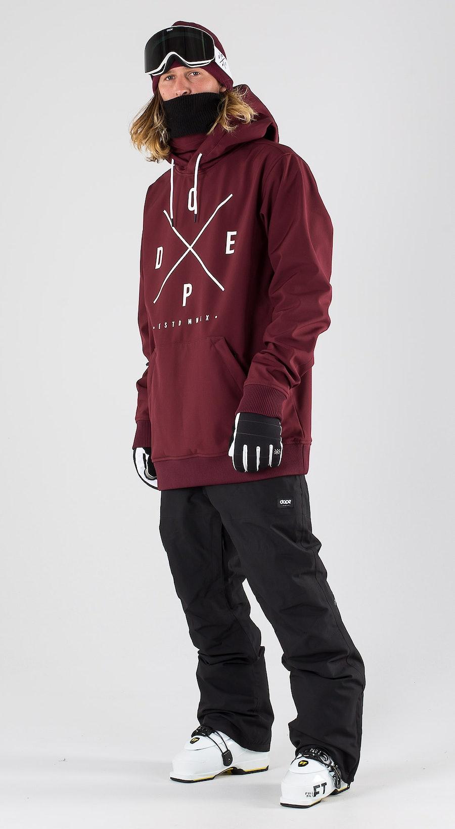Dope Yeti Burgundy Ski clothing Multi