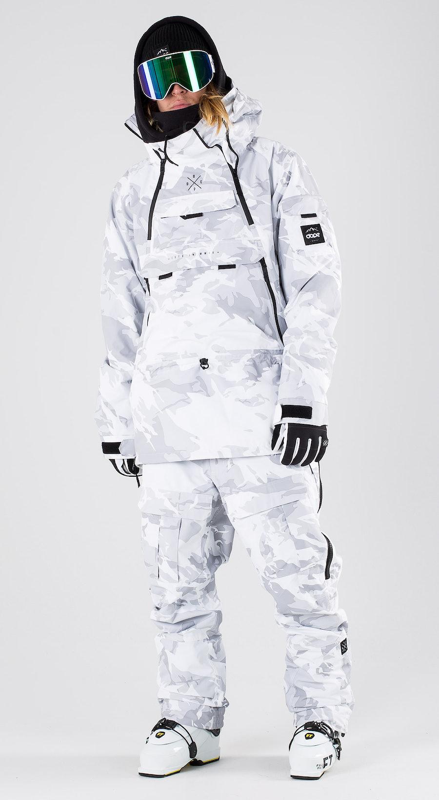 Dope Akin Tux Camo Vêtements de ski Multi