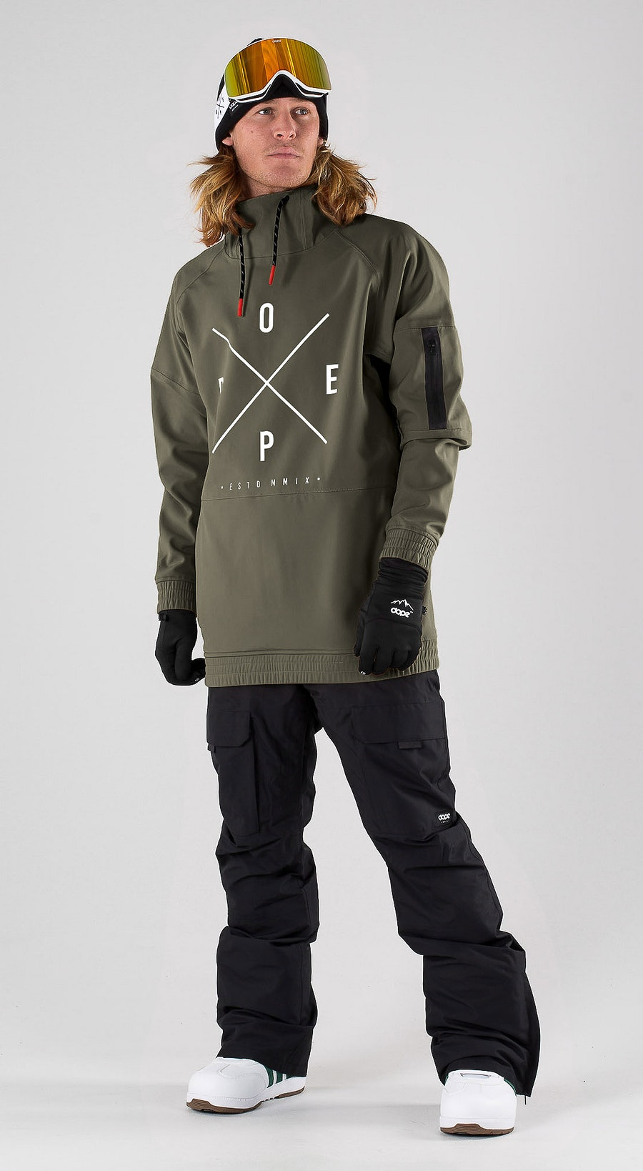 Dope Rambler MTE Green Snowboard clothing Multi