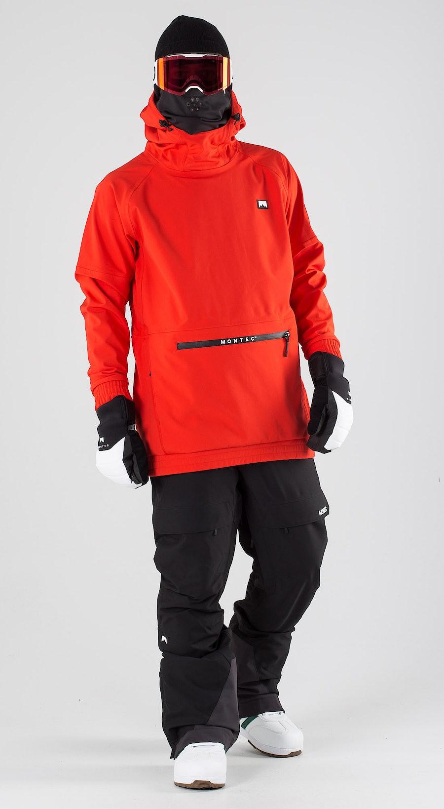 Montec Tempest Red Snowboardkläder Multi
