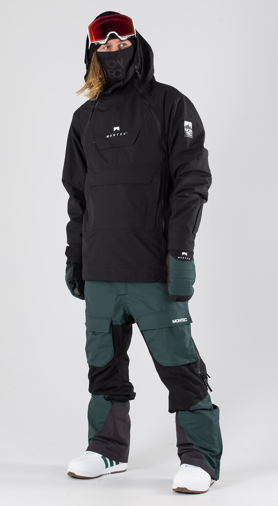 Montec Doom Black Snowboard clothing Multi
