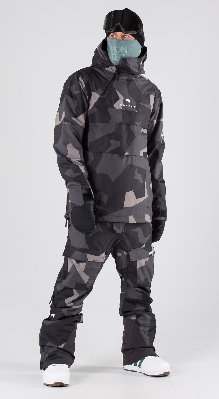 Montec Dune Night Camo Snowboard clothing Multi