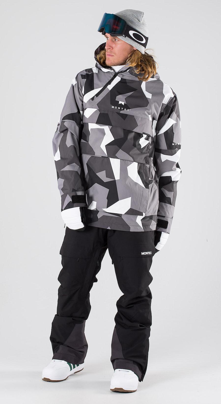 Montec Dune Arctic Camo Vêtements de snowboard  Multi