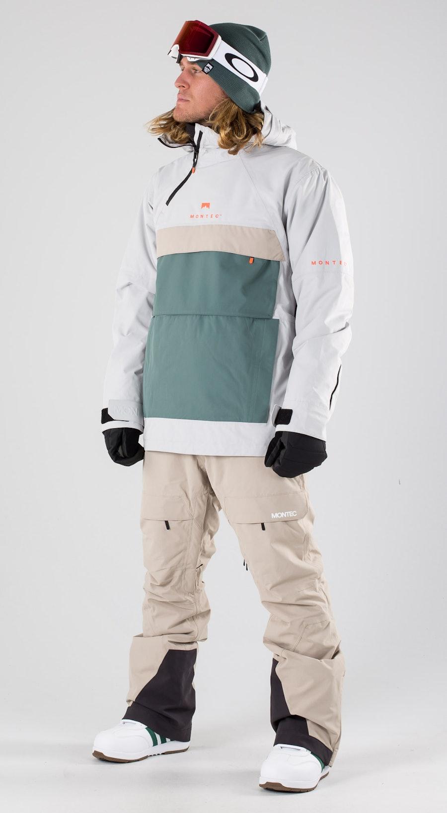 Montec Dune Light Grey Atlantic Desert Snowboardkläder Multi