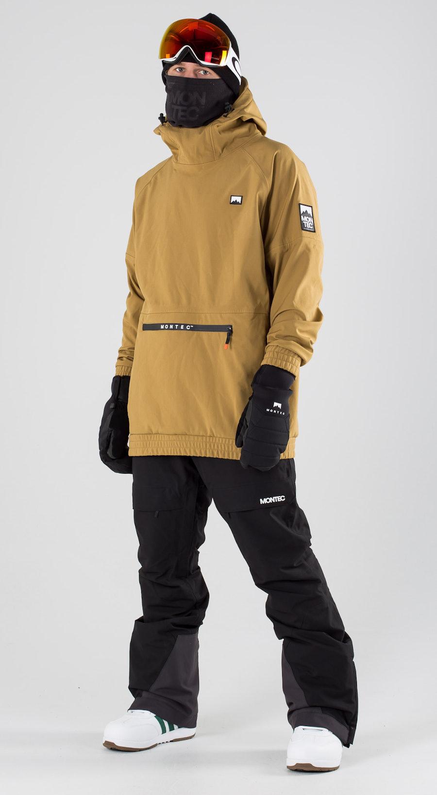Montec Tempest Gold Vêtements de ski Multi