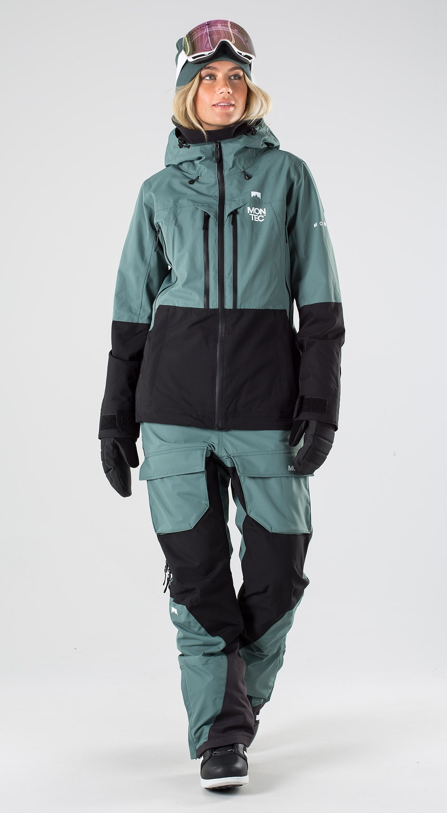 Montec Moss Atlantic/Black Abbigliamento da snowboard Multi
