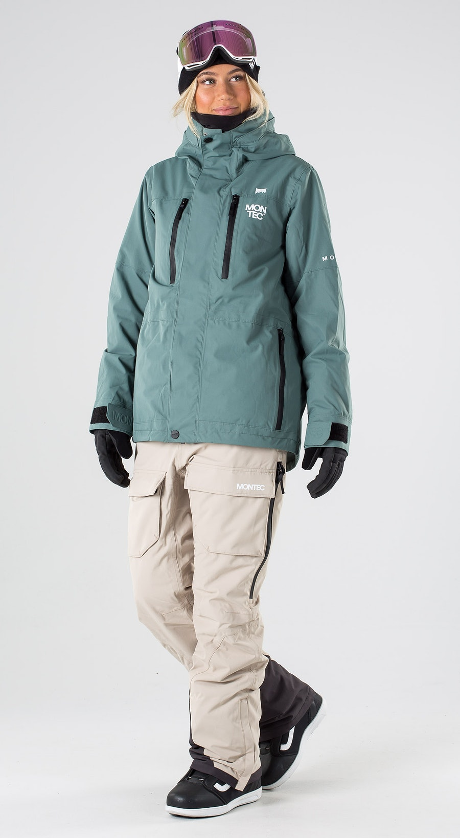 Montec Fawk W Atlantic Abbigliamento da snowboard Multi