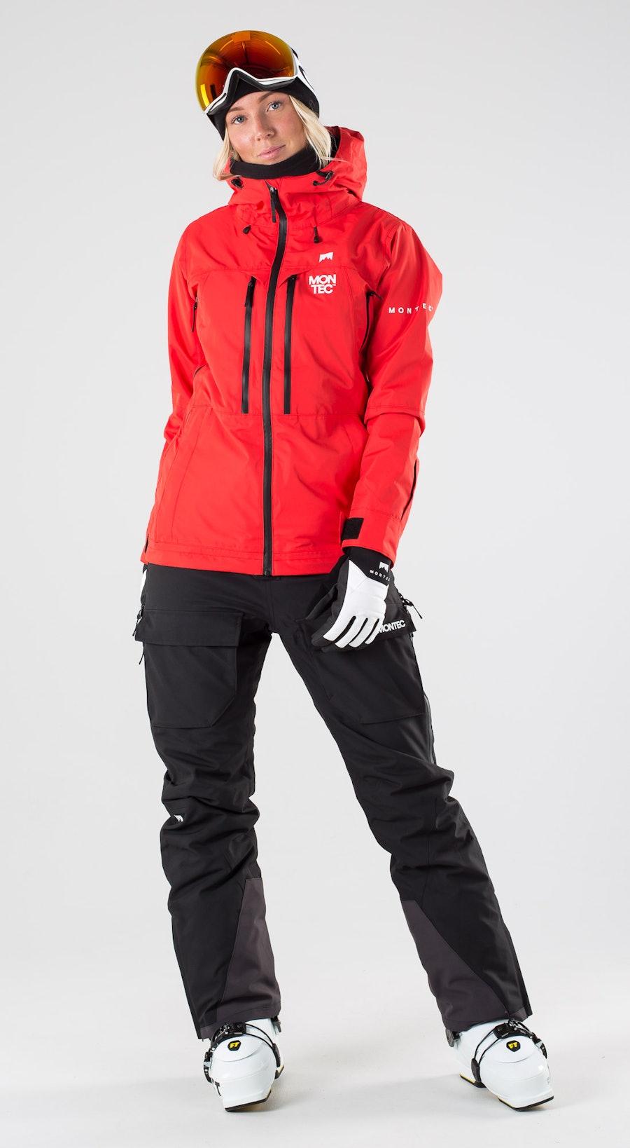 Montec Moss Red Abbigliamento da sci Multi
