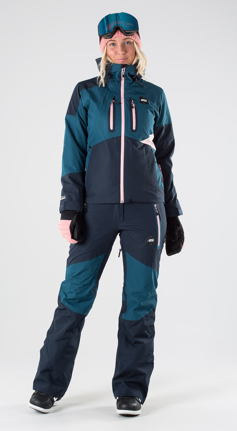 Picture Seen Dark Blue Snowboard clothing Multi
