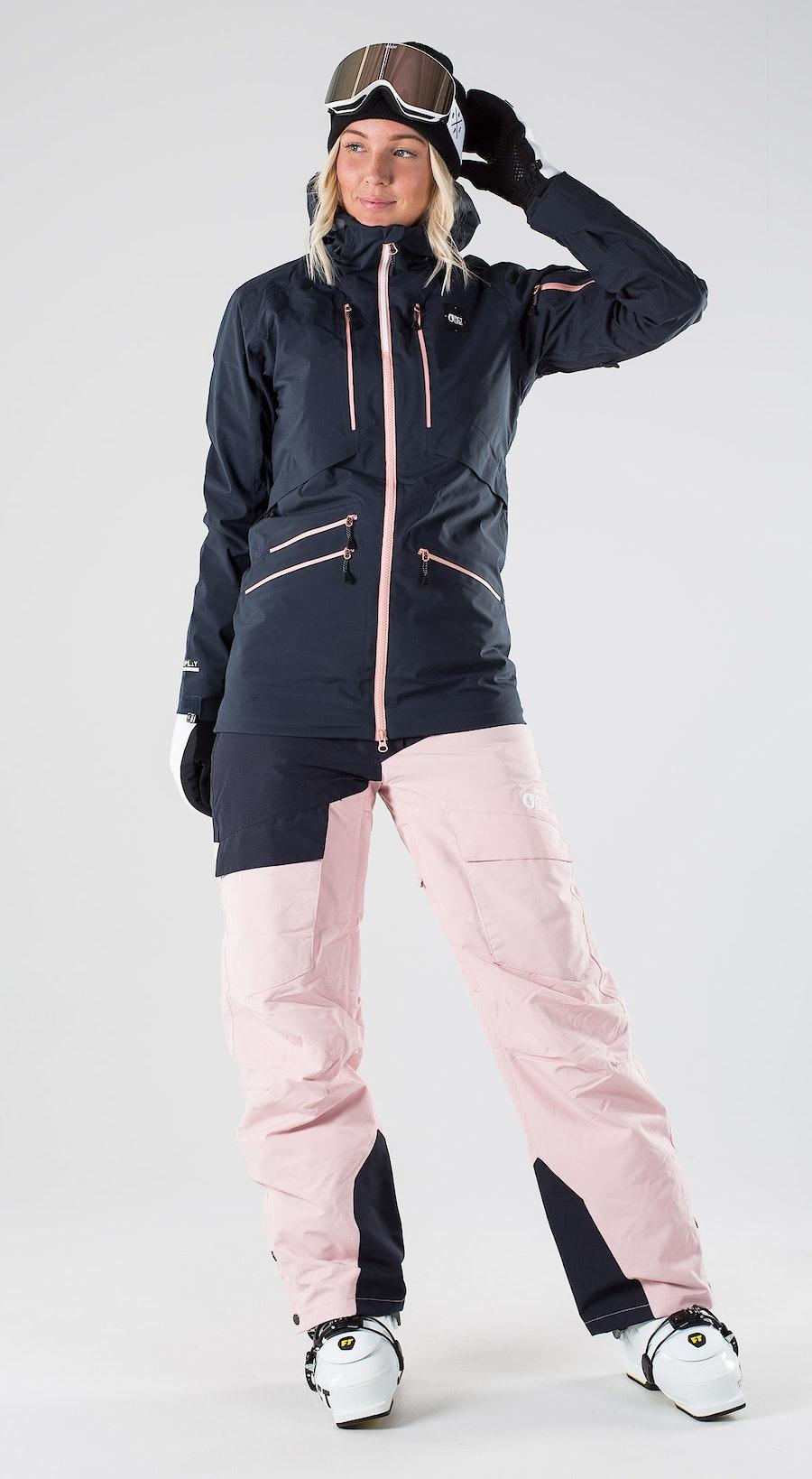 Picture Haakon Dark Blue Abbigliamento da sci Multi
