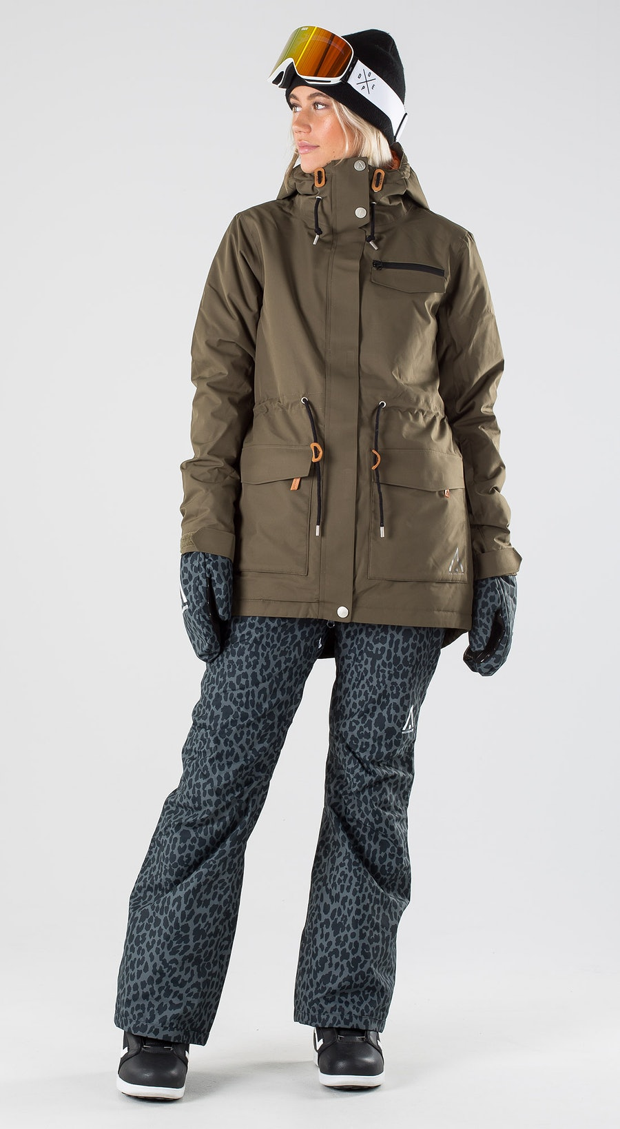 WearColour State Mud Snowboardkleidung Multi