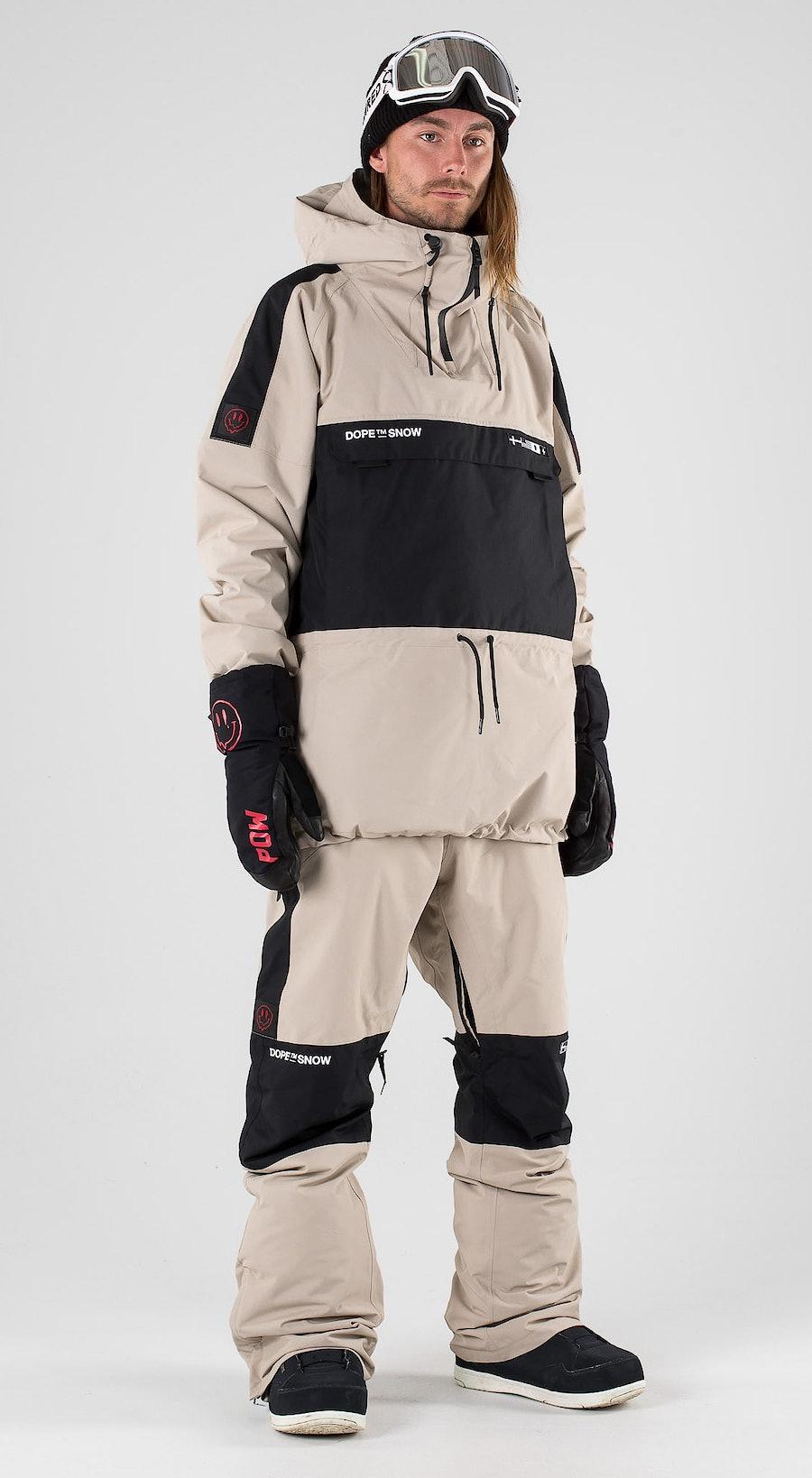 Dope KB Annok Sand Black Vêtements de Snowboard  Multi