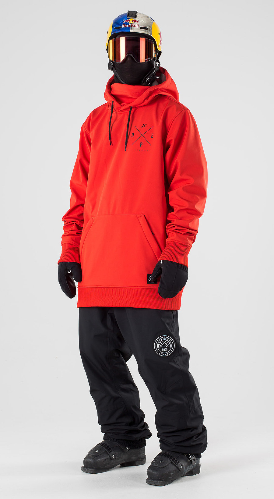 Dope JT Yeti Red Ski clothing Multi