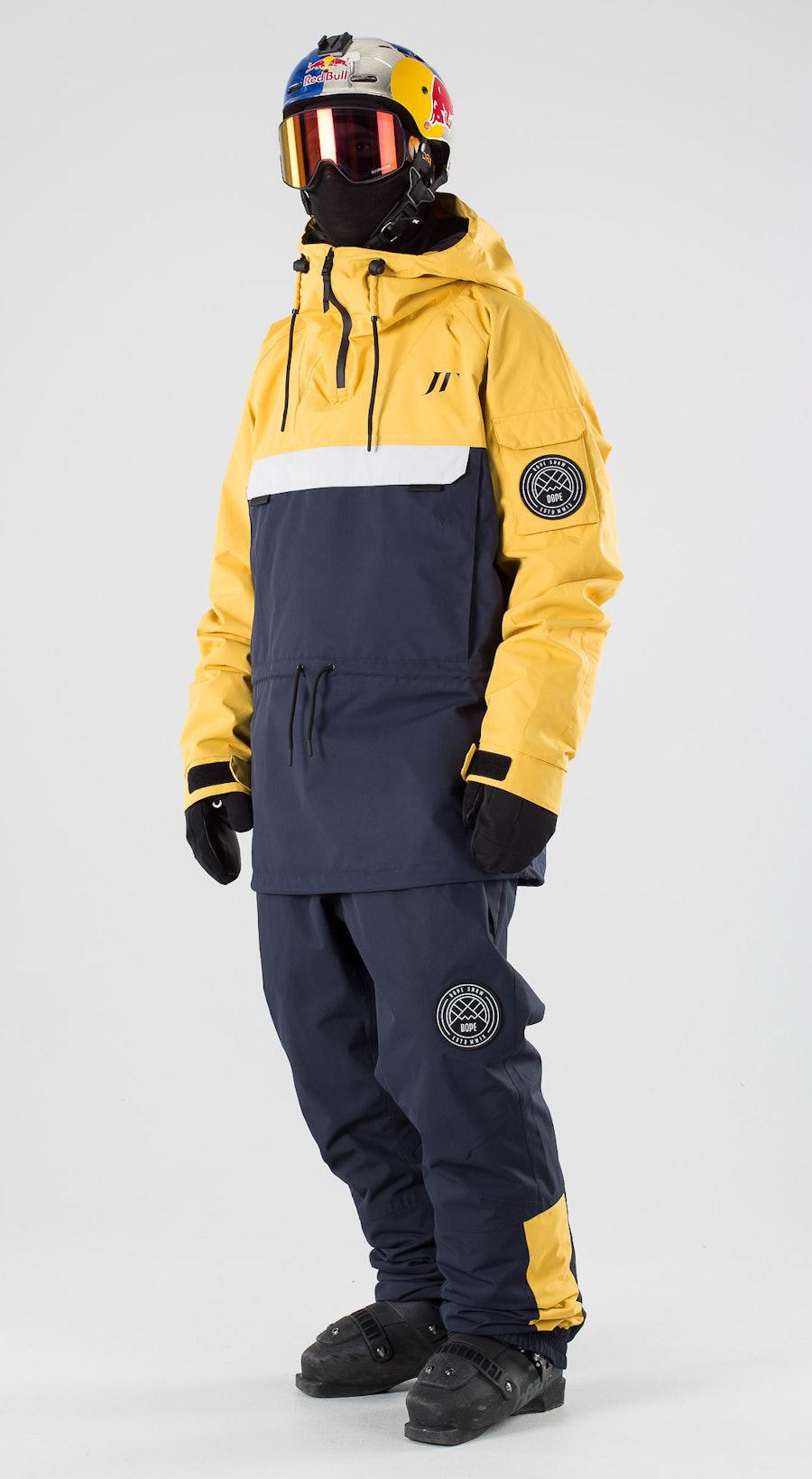 Dope JT Annok Yellow Grey Marine Vêtements de ski Multi