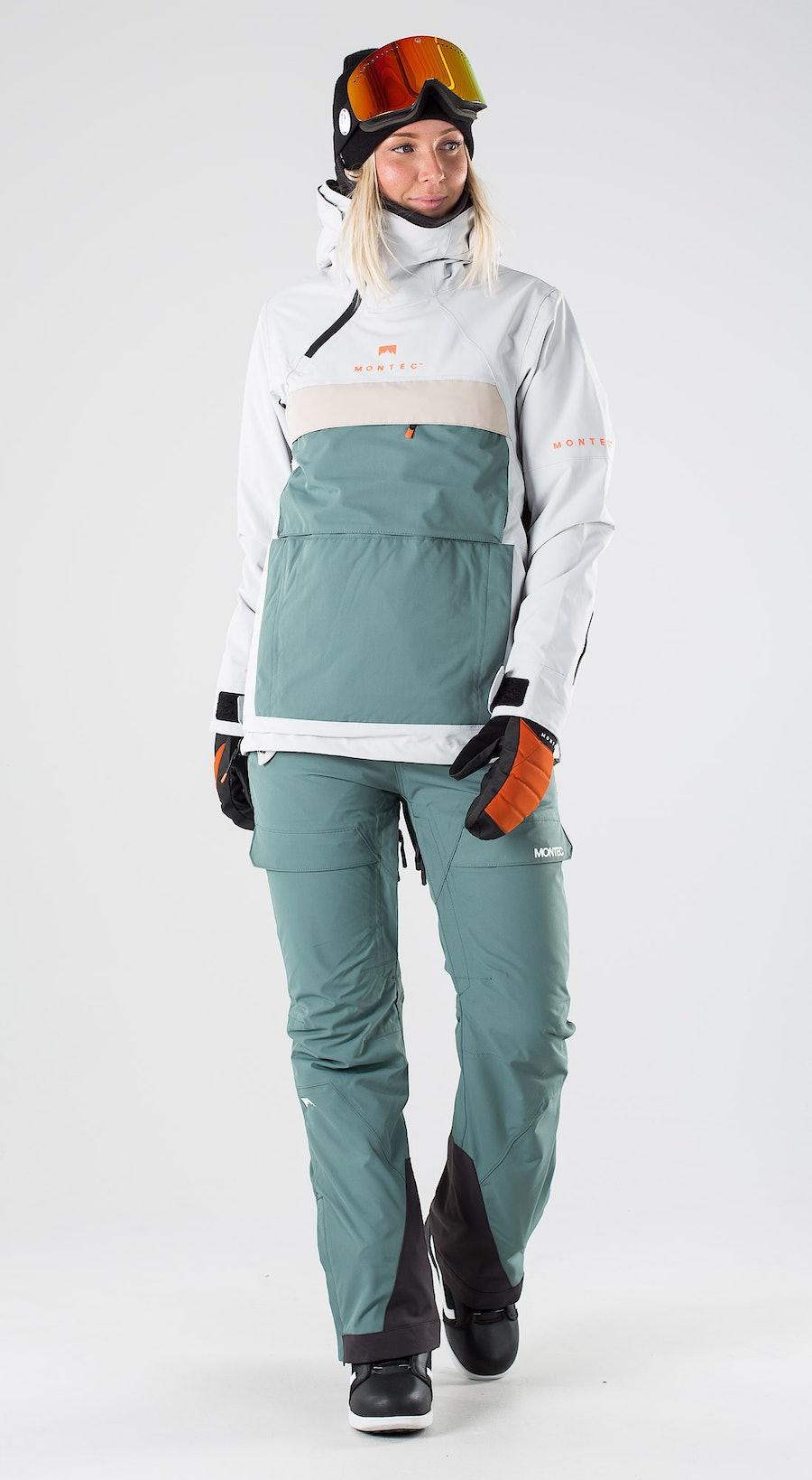 Montec Dune W Light Grey Atlantic Desert Abbigliamento da snowboard Multi