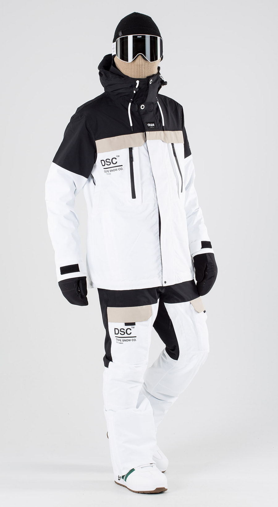 Dope Lunar DSC Black Sand White Snowboard clothing Multi
