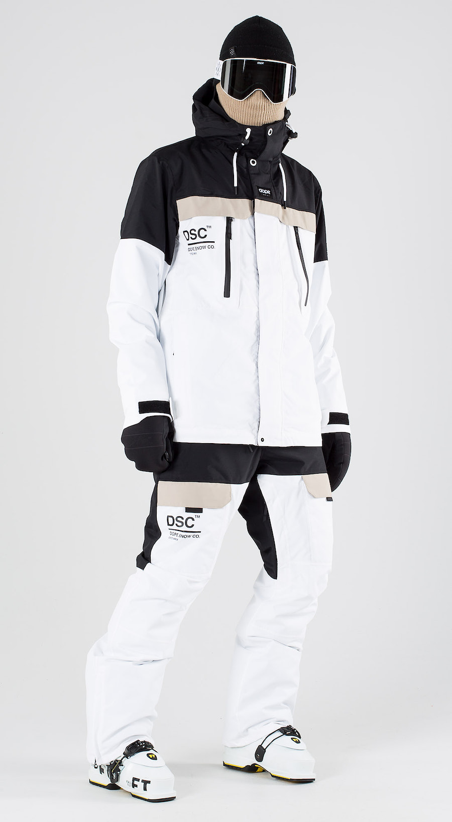 Dope Lunar DSC Black Sand White Ski clothing Multi