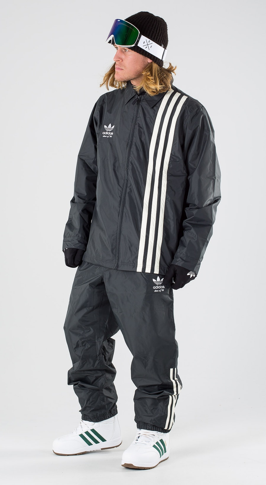 Adidas Snowboarding Civilian Carbon/Active Blue/Cream White Snowboard clothing Multi