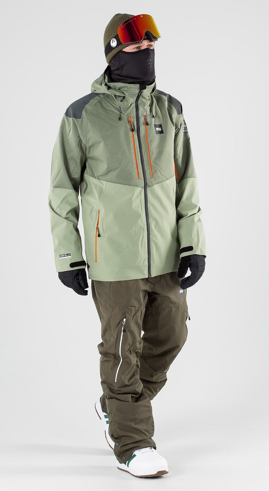 Picture Goods Dark Army Green Snowboardkleidung Multi
