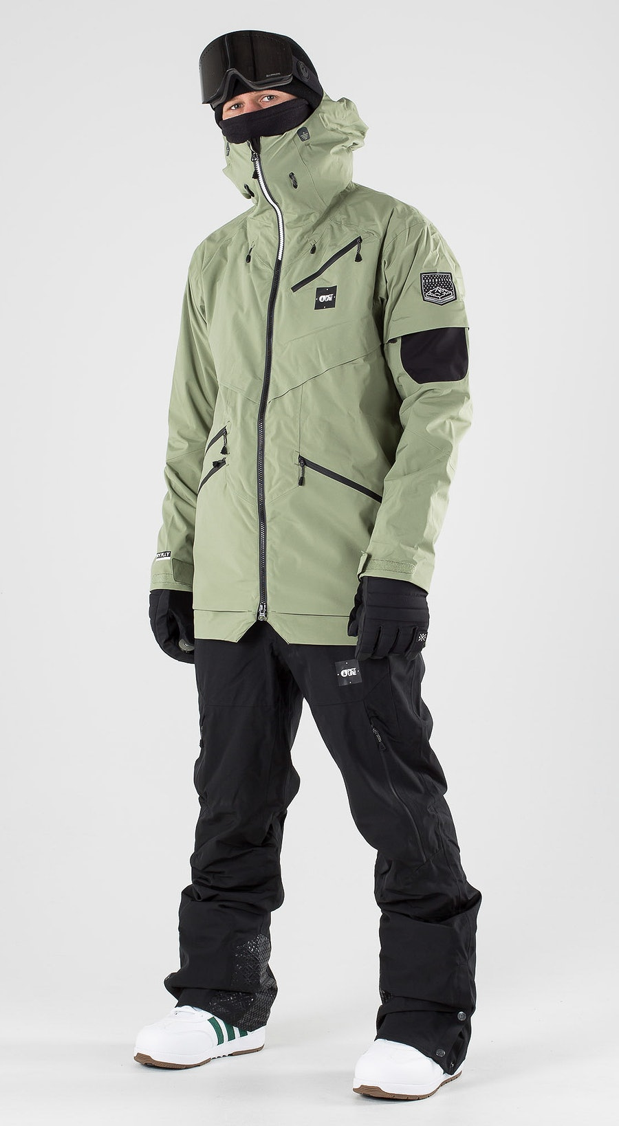 Picture Zephir Army Green Snowboard clothing Multi