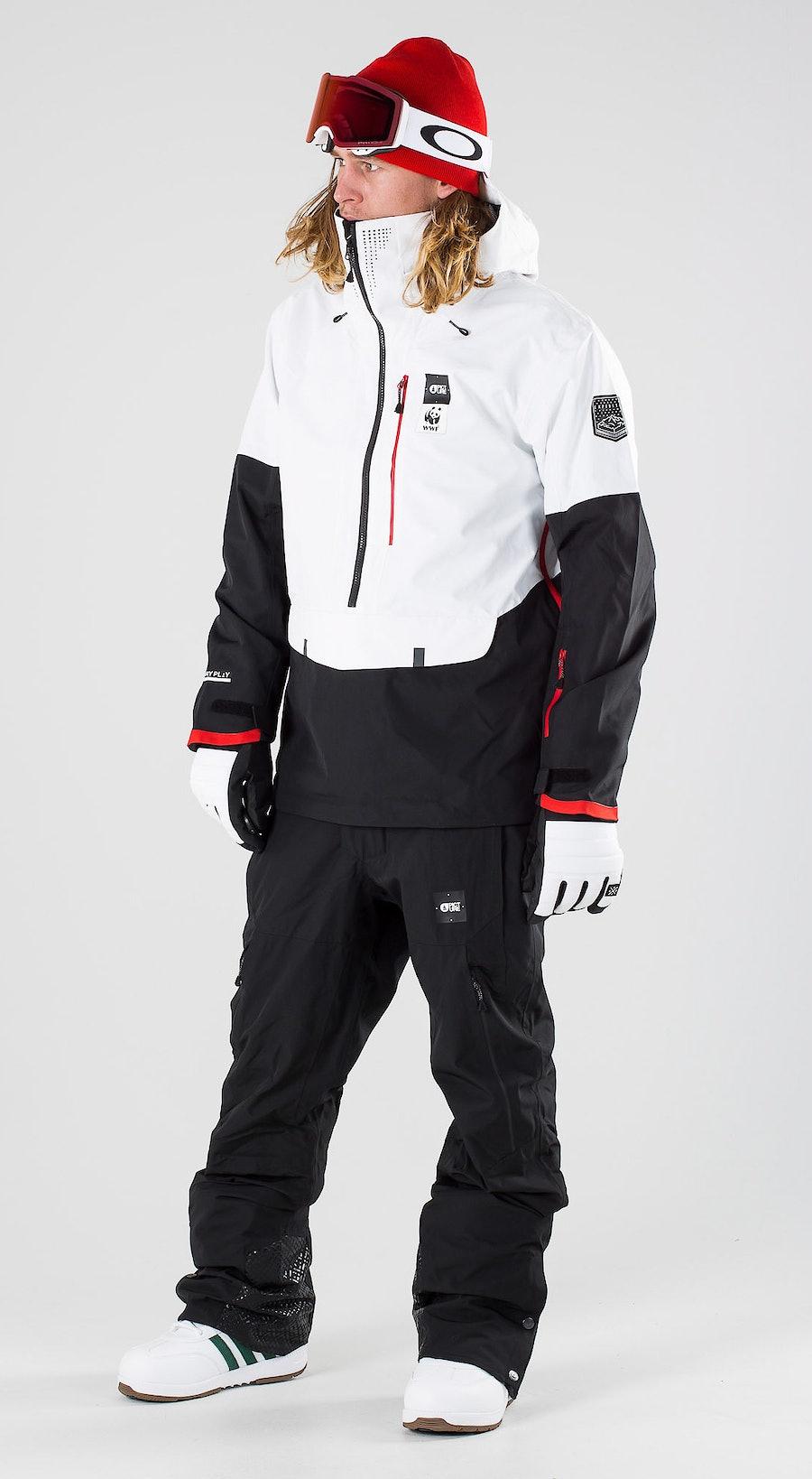 Picture WWF Anton WWBlack & White Snowboardkläder Multi