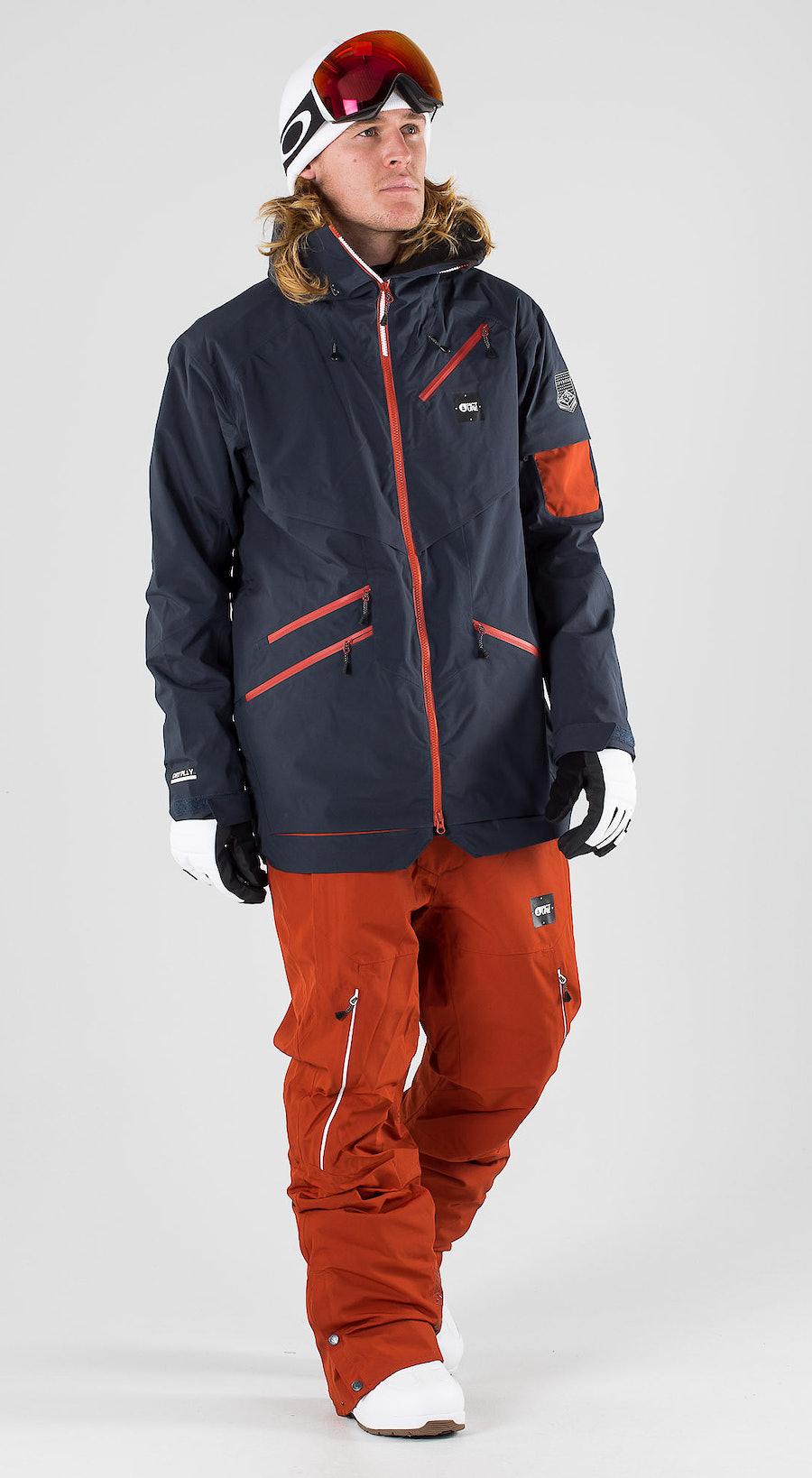 Picture Zephir Dark Blue Vêtements de snowboard  Multi