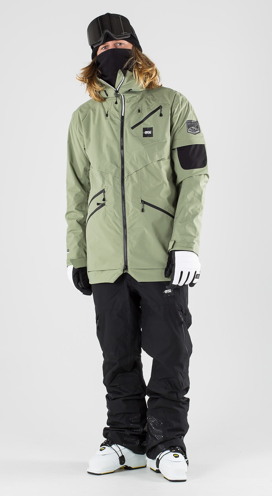 Picture Zephir Army Green Skibekleidung Multi